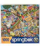 """Getting Away Jigsaw Puzzle 1000 pc Springbok 24"""" x 30"""" 2020 Made in USA ... - $24.18"""