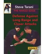 Naked Edge #2 Defense Against Long & Close Range knife Attacks DVD Steve... - $23.00