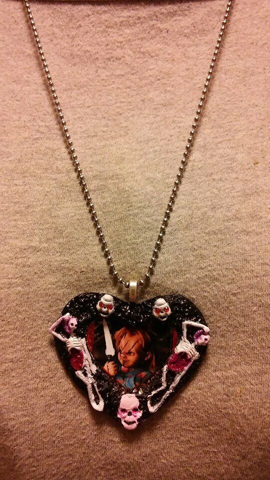 Chucky Childs Play Necklace Horror Collectible Novelty Jewelry image 3