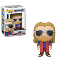 Funko Pop Marvel Comics Avengers Endgame Casual Thor Vinyl Toy #479 Figu... - $14.99