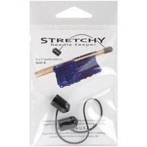 "Knitting Solutions Stretchy Needle Keeper For 7"" Double Poin Black - $7.13"