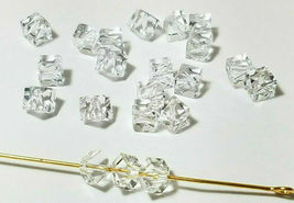 4pcs - 4mm Swarovski Crystal Diagonal Cube Beads #5600 - You Choose The Color image 4