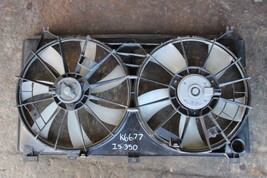 2006-2012 LEXUS IS350 DUAL RADIATOR AND A/C CONDENSOR COOLING FAN K6677 - $168.29