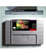 Legend of Zelda Parallel Worlds Snes Super Nintendo NTSC USA Version - Link - $19.99