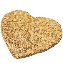Super Soft Lovely Sweet Heart Love Shaped Pad Chenille High Absorption R... - $18.99