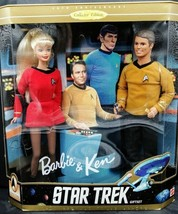 Star trek Barbie and Ken Giftset 1996 - $79.19