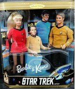 Star trek Barbie and Ken Giftset 1996 - $79.19