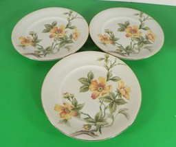 Meito China Norleans SUN GLORY Salad Dessert Plate (s) LOT OF 3 Occupied... - $17.32