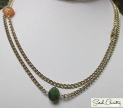Vintage Sarah Coventry  Jewelry - #8296 Nature's Treasure Neckace - $16.09