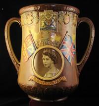 "Scarce R.D. Presentation Loving Cup - ""Queen Elizabeth II Coronatiion* Scarce - $327.74"