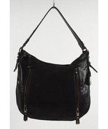 Cole Haan Shoulder Bag Black Crackled Leather - $50.00