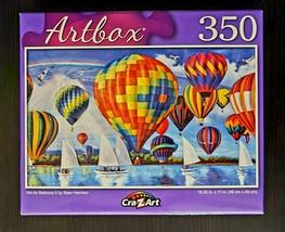 Artbox Hot Air Balloon II by Sean Harrison 350-Piece Jigsaw Puzzle SAME-... - $6.46