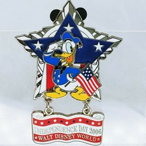 WDW Independence Day 2006 Donald Duck Americana Star LE Disney Pin 46972 - $36.62