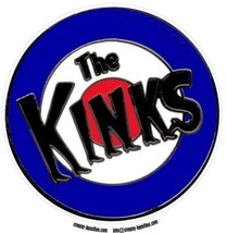 Mod composite laminated circular wall plaque 25cm Kinks Small Faces The Who - $32.00