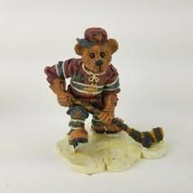 Boyds Bears & Friends Puck .... Slapshot Figurine 228305 Hockey Year 199... - $20.56