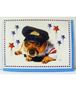 CHIHUAHUA DOG GREETING CARDS IN A POLICE OUTFIT Blank with Envelope Pack... - $5.00