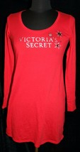 Victorias Secret Sleep Night Shirt Gown Sz XS Red Jeweled Soft Sleep Bed... - $24.25