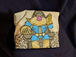 Loot Crate Marvel Comics Exclusive THANOS INFINITY WAR Cartoon T-Shirt M... - $14.01