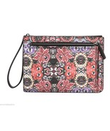 Rebecca Minkoff Mexican Flower Leather Large Annie Purse Pouch Clutch NWT - $74.50