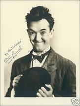 Stan Laurel autograph photo print - $3.85