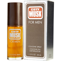 Coty Musk By Coty Cologne Spray 1.5 Oz For Men (Package Of 6) - $77.00