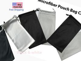 Premium Microfiber Pouch Bag Cleaning Case Sunglasses Eyeglasses High qu... - $1.99+