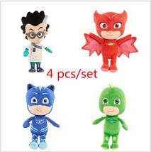 20-25cm Cartoon Plush Dolls Stuffed Toys Catboy Gekko Owlette Romeo High... - $26.49