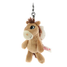NICI Horse Moonlight Brown Stuffed Animal Plush Beanbag Key Chain 4 inch... - $11.00
