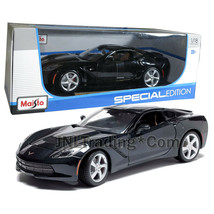 Maisto Special Edition 1:18 Die Cast Black Sports Coupe 2014 CORVETTE ST... - $54.99