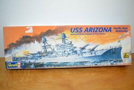 Revell USS ARIZONA Model Kit Military Battleship 1:426 Scale 2011 Comple... - $13.92