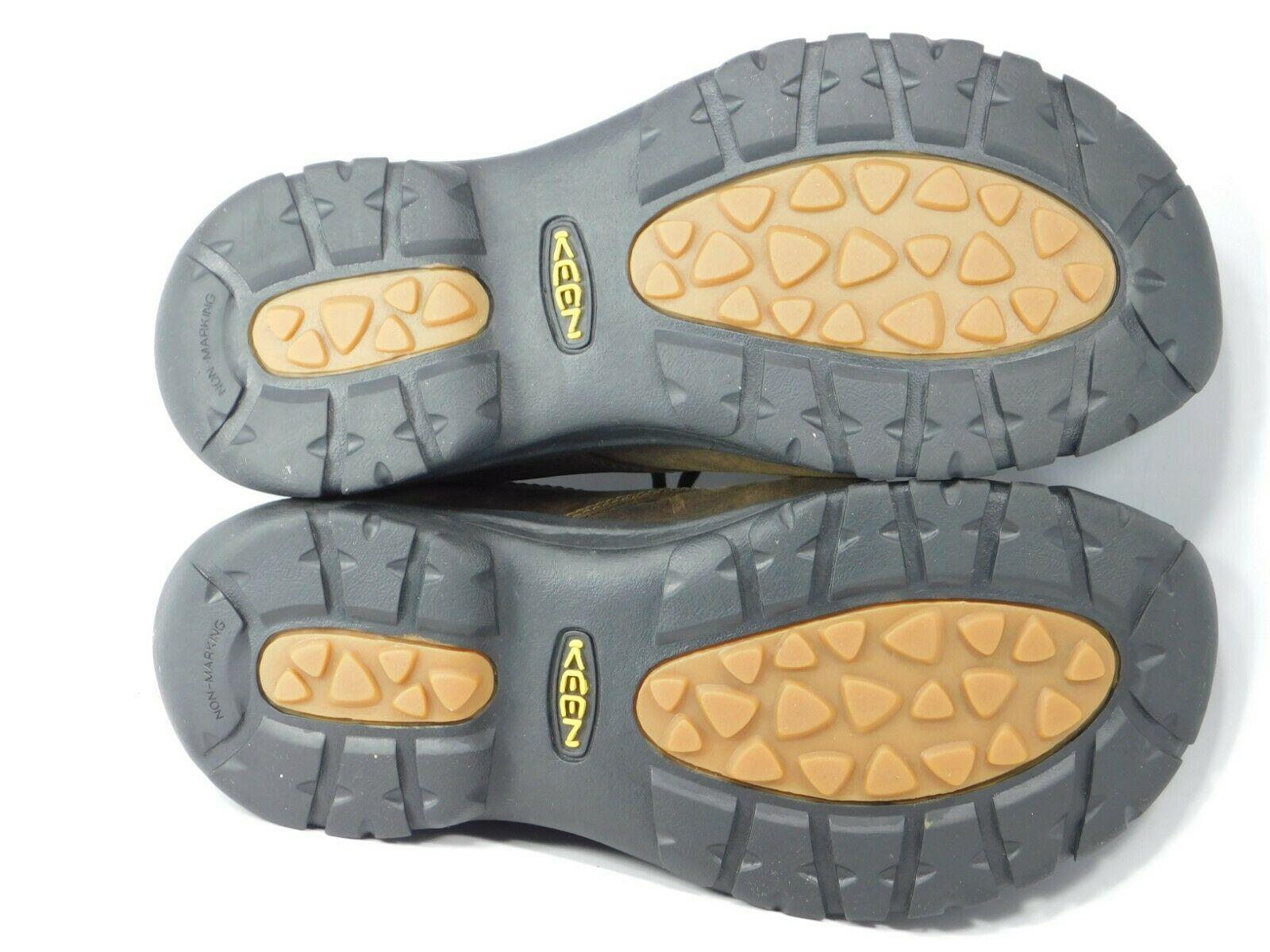 Keen Boston III Size 11.5 M (D) EU 45 Men's Lace Up Casual Shoes Brown 1015043