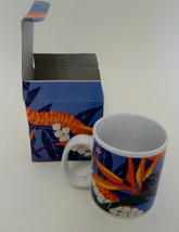 Hilo Hattie Store Of Hawaii Collector Souvenir Coffee Cup Floral Bird Pa... - $14.73