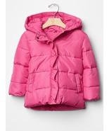Baby Gap PrimaLoft® ruffle-trim puffer jacket Pink 18-24m - $49.99