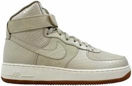 Nike Air Force 1 High Premium Oatmeal/Oatmeal-Khaki-Sail 654440-112 Size 11.5 - $110.00