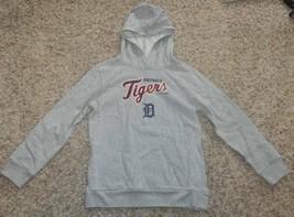 Girls Hoodie Sweatshirt Detroit Tigers MLB Baseball Gray-size 14/16 & 18 - $29.00