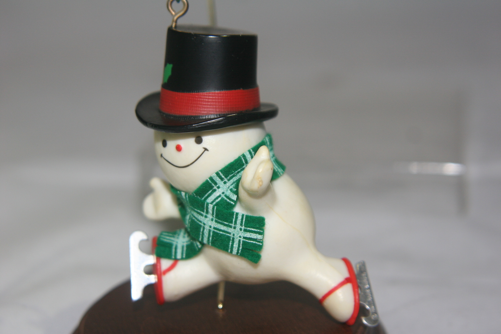 Hallmark Skating Snowman Christmas Ornament 1979 Vintage ...