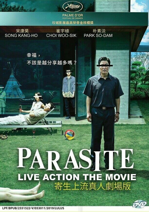 Korean Drama PARASITE Live Action The Movie dvd Eng Sub Ship From USA