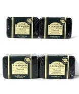 4 Count A La Maison 8.8 Oz Charcoal Coconut & Olive Oils Hand & Body Soap - $24.99