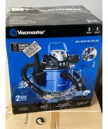 Vacmaster 5 gallon wall mount wet/dry vacuum. New in damaged box. - $67.72