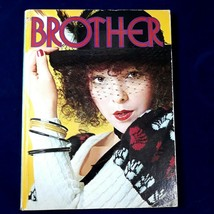 Knitting Book Brother Pattern Punch Card / Electronic Patterns Fair Isle... - $14.84