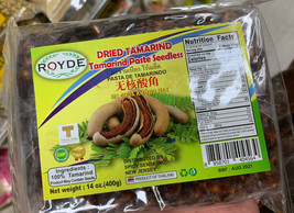 Royde Thailand Seedless Dried Tamarind Paste 14 Oz. Block - $8.95