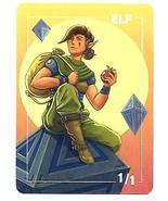 Magic The Gathering MTG Promo Zendikar Token Elf 1/1 Card Kingdom - NM - $3.99