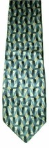 "Van Heusen Men's Silk Neck Tie Blue Geo 57.5"" NWOT - $7.91"