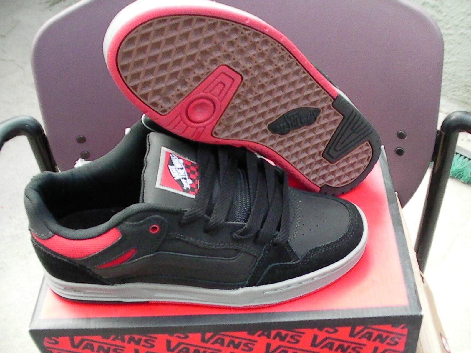 5ec7dc1ea2 Vans shoes desurgent black red grey size 9.5 and 50 similar items