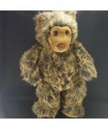 """Build A Bear Brown Black 19"""" long faux fur vintage plush Stuffed Animal ... - $19.79"""