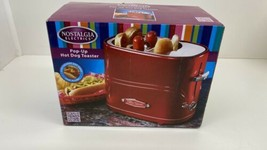 Nostalgia Retro Pop-Up Hot Dog Toaster - Red (HDT600RETRORED) - £12.33 GBP