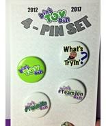 Bin's Toy Bin 4ct Pin Pack - Fan Pack Edition - $2.99