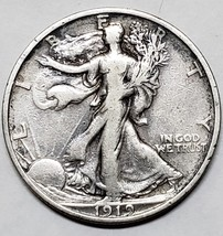 1919S Walking Liberty Half Dollar 90% Silver Coin Lot# E 69