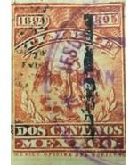 Mexico 1894-1895 Renta Interior 2 Centavos Stamp  - $0.95