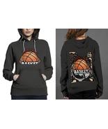 NEW !! Basket Ball In Retro Style Classic Black women's Hoodie - $29.99
